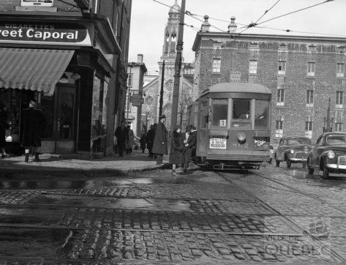 Quand le tramway passait dans Saint-Jean-Baptiste