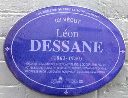 Ici vécut: Léon Dessane