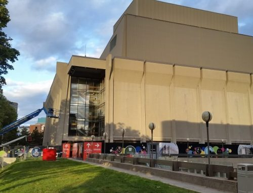 Les rénovations se poursuivent au Grand Théâtre