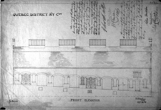 Garage de la quebec district railway le bourdon du faubourg for Garage du faubourg le quesnoy