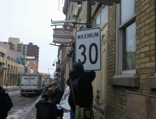 Des rues à 30 km/h dans le Faubourg?