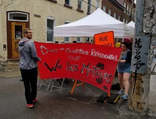 Une occupation de rue festive pour réclamer le 30km/h dans le Faubourg