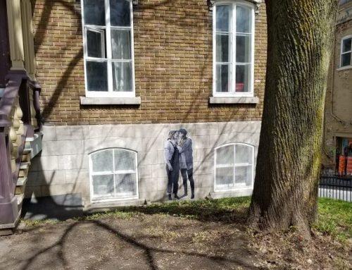 L'amour sur les murs