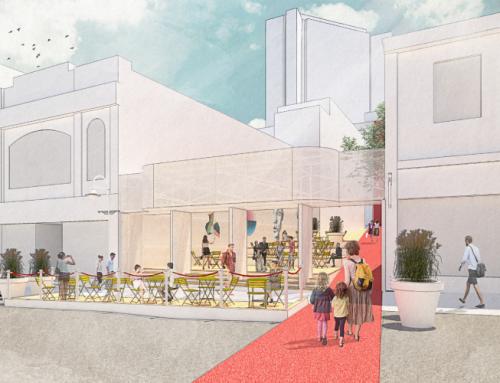 Passage Olympia: une nouvelle place éphémère dans Saint-Jean-Baptiste
