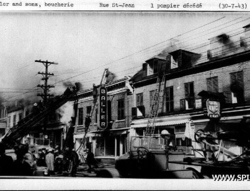 Il y a 75 ans, un incendie sur la rue Saint-Jean fait un mort