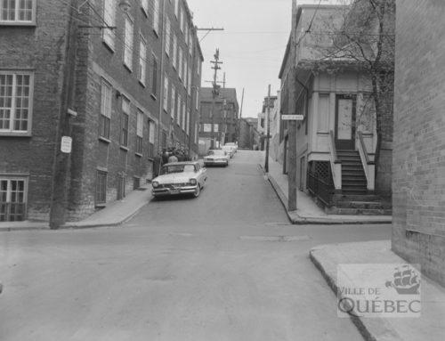 La rue Saint-Eustache, une rue disparue du quartier Saint-Jean-Baptiste