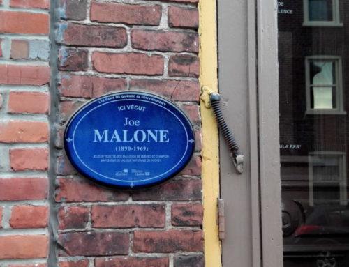 Joe Malone, résidant de Saint-Jean-Baptiste