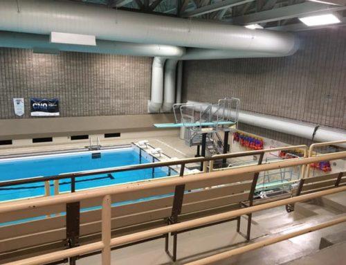 Réouverture de la piscine du Centre Lucien-Borne