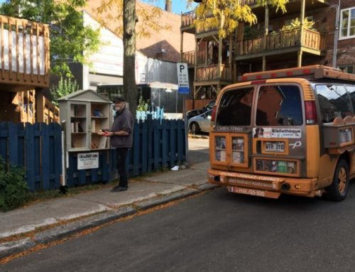 """Un point de """"livres-service"""" dans le quartier"""