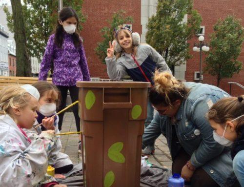 Les filles de l'École Saint-Jean-Baptiste se mobilisent pour l'environnement