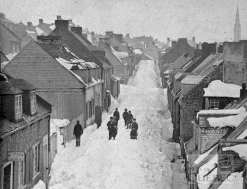 La neige dans Saint-Jean-Baptiste