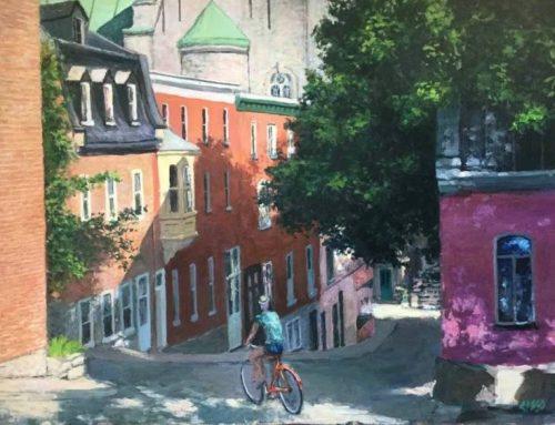 John Cisco, peindre les couleurs de Saint-Jean-Baptiste