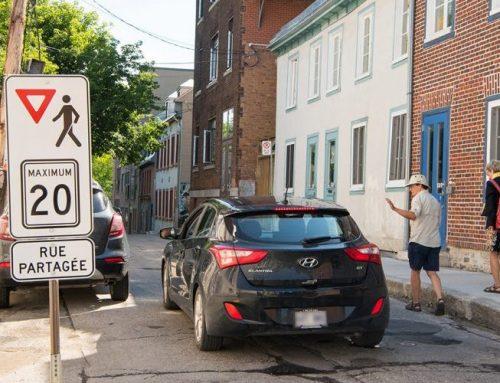Quatre rues partagées dans le Faubourg cet été